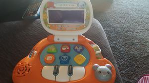 1/9 Vtech Light up Laptop Baby Toy Educational Electronic Light Sound Handle Abcs for Sale in US