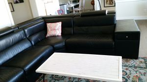 Polaris Italian Leather Sectional Sofa for Sale in Issaquah, WA