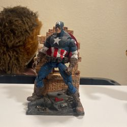 Marvel Legends Captain America With Diorama Base for Sale in Stockton,  CA