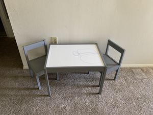 Kids table and chair for Sale in Essex, MD