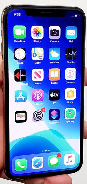 256GB UNLOCKED BIG SCREEN IPHONE XSMAX EXCELLENT CONDITION TMOBILE ATT VERIZON METRO CRICKET AND WORLD USE for Sale in Atlanta, GA