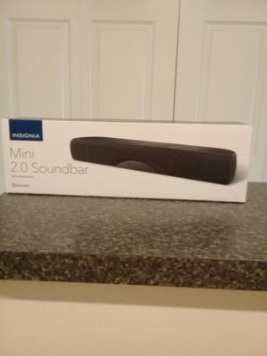 BRAND NEW INSIGNIA SOUNDBAR for Sale in Fort Myers, FL