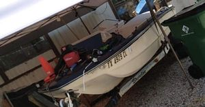 16 FT 1973ish Dem-Craft boat for Sale in Cross Roads, TX