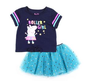Peppa Pig Girls Tutu Skirt Set for Sale in Scotrun, PA