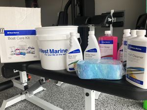 West Markne Boat Care Kit - not used for Sale in Ontario, CA