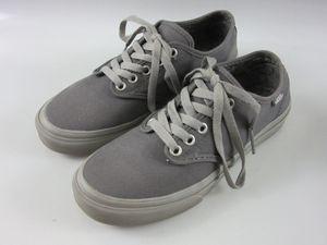 Vans Women's Gray Sneakers Low Top Shoes Size 7 721356 for Sale in Sarasota, FL