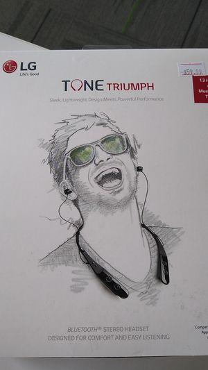 LG Tone Triumph Bluetooth Headphones for Sale in Schofield, WI