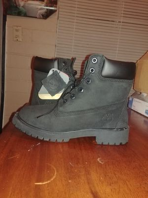 Timberland Boots All Black mens 4 womens 6 for Sale in Temple City, CA