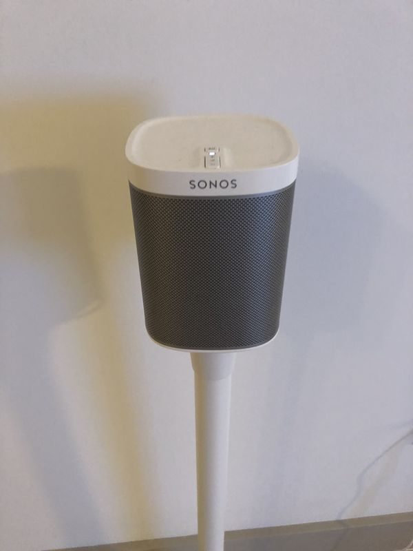 Sonos Play 1 (pair of two, price shown for one), comes with the stand