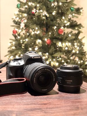 Canon EOS Rebel SL1 Camera plus 50 mm lens for Sale in Nashville, TN