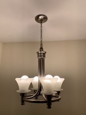 Brushed Nickel 4-light Chandelier for Sale in Kirkland, WA