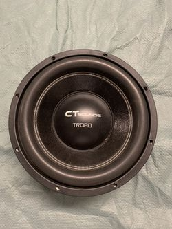 CT Sounds Str 10 Inch Car Subwoofer for Sale in Irwindale,  CA