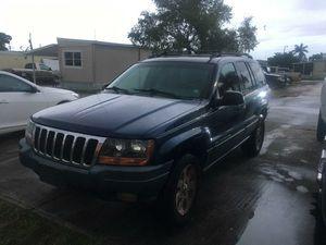 2001 Jeep Grand Cherokkee 4x4 for Sale in Hialeah, FL