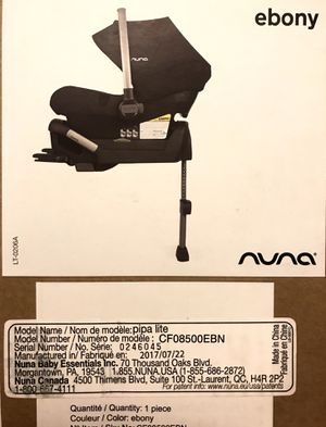 NUNA PIPA LITE for Sale in Peoria, AZ
