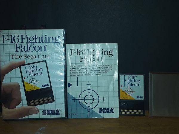 Sega Master System (F-16 fighting falcon)