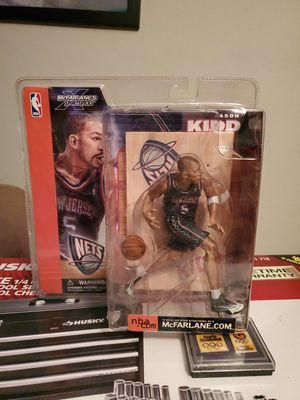 Jason Kidd New Jersey Nets NBA McFarlane Action Figure NIP NIB new in package for Sale in Phoenix, AZ