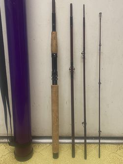 Rare Vintage REI 4 Piece Backpacking Salmon Fishing Rod for Sale in Kirkland,  WA