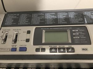 Casio LK-100 Lighted Keyboard with Accessories for Sale in Hialeah, FL