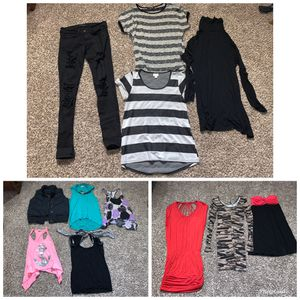 Women's clothes lot size small pants 27 for Sale in Gig Harbor, WA