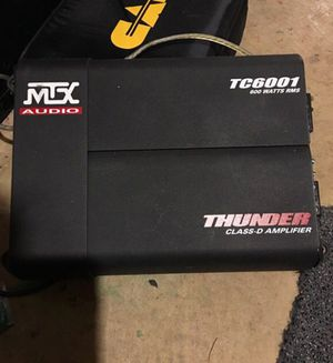 MTX Audio Class D Amplifier, amp for subwoofers for Sale in Rockville, MD