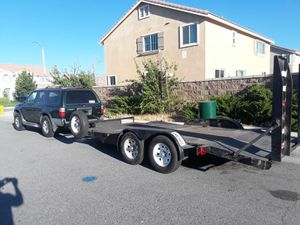 Car trailer and small trailer for Sale in Palmdale, CA