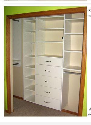 Reach- in custom made closet organizer for Sale in Woodland Park, NJ
