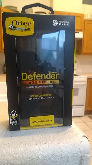 Samsung Galaxy s9 + otter box almost new for Sale in Kennewick, WA