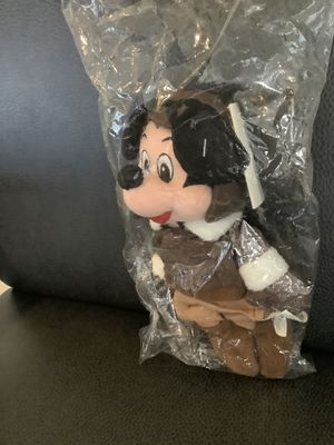 NEW Retired Beanies Baby In Bags (Mickey Pilot, Mickey Toga, Winnie The Pooh Bee, Pillsbury Doughboy for Sale in Scottsdale, AZ