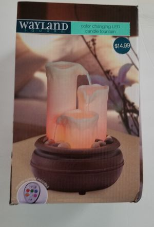 LED Candle water fountain for Sale in Gahanna, OH