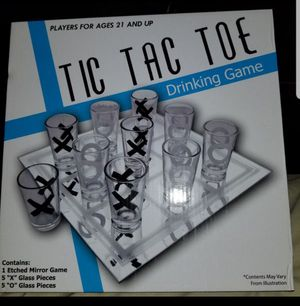 Drinking Tic Tac Toe Game for Sale in Las Vegas, NV