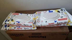 Huggies baby wipes 24ct for Sale in West Palm Beach, FL