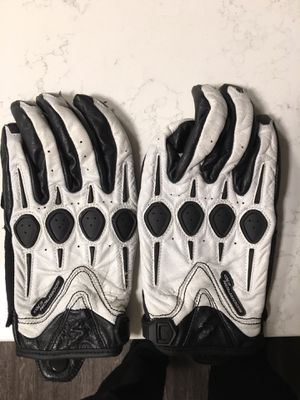 Motorcycle leather gloves Womens Size M for Sale in Arlington, VA