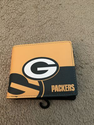 Green Bay packers wallet (brand new) for Sale in Cherry Valley, CA