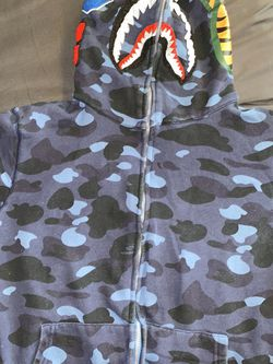 Blue Authentic Bape Hoodie for Sale in Mount Rainier,  MD
