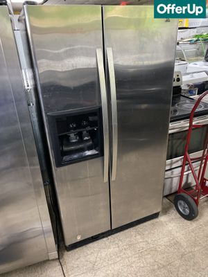 🚚💨Side by Side Kenmore Refrigerator Fridge Stainless Steel #966🚚💨 for Sale in Orlando, FL