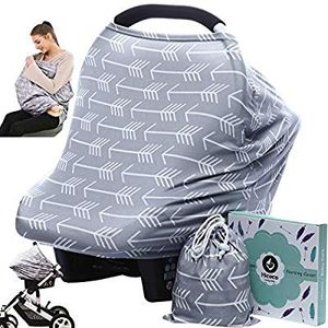 Car Seat Canopy Nursing Cover - Multi Use Baby Stroller and Carseat Cover, Breastfeeding Nursing Covers, Boys and Girls for Sale in Altamonte Springs, FL