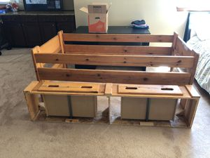 Wooden bunk beds for Sale in Castle Rock, CO