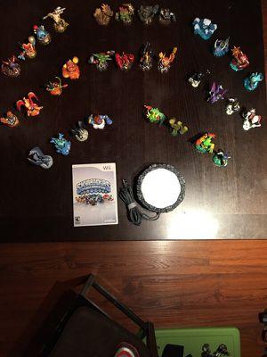 Skylanders Spyros Adventure. Complete set, perfect condition. for Sale in Salt Lake City, UT