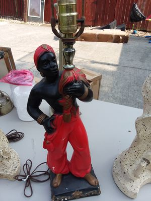 Blackamoor lamps Antiques 1955 for Sale in Columbus, OH