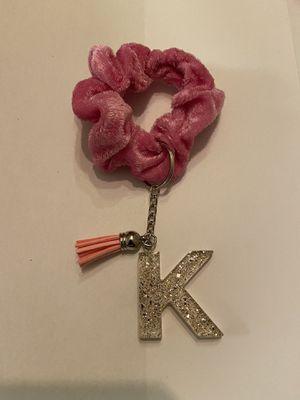 Keychain with scrunchie/ pink for Sale in Wichita, KS