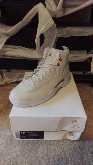 Nike Jordan 12 Retro OVO White 873864 102 size 12 for Sale in St. Louis, MO