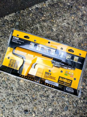 DeWalt P3500 Powerful, Low Velocity Semi-Automatic Powder Actuated Fastening Tool for Sale in Tacoma, WA
