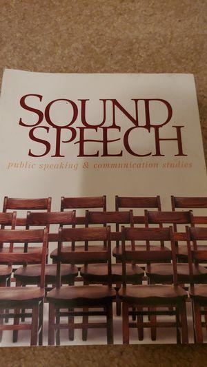 Sound Speech for Sale in Lincoln, CA