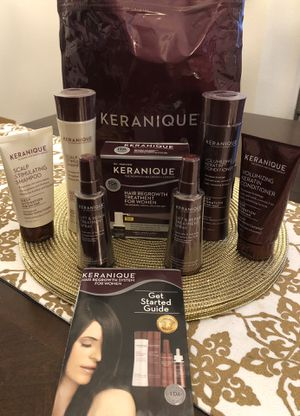 KERANIQUE New! Hair Regrowth System for Women - 90 Day Deep Hydrating Kit for Sale in BVL, FL