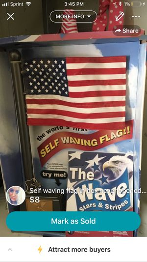 Self waving flag for Sale in Kingsport, TN