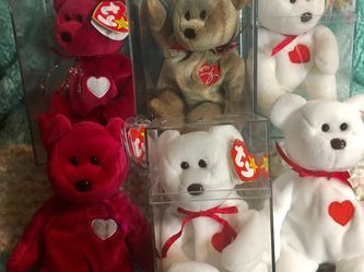 Ty Valentino And Valentina Beanie Babies! for Sale in Everett,  WA
