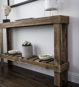 New!! Table, console table, sofa table, consola sofa table, side table, living room furniture, entrance furniture , dark walnut for Sale in Phoenix, AZ