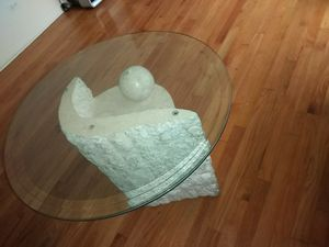 Glass top coffee table for Sale in Chicago, IL