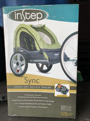 Single Seat Bicycle Trailer for Sale in Corpus Christi, TX
