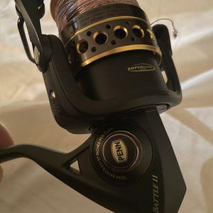 PENN Battle II Spinning Reel 4000 for Sale in Fort Lauderdale, FL
